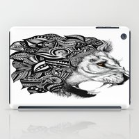 leon iPad Cases featuring Leon by Artful Schemes
