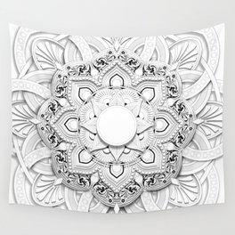 Ghost Mandla Wall Tapestry