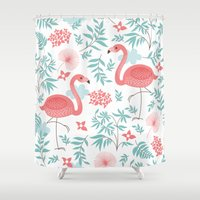 miami Shower Curtains featuring Miami Beach by MY  HOME