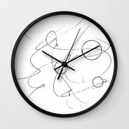 Graphisme Wall Clock