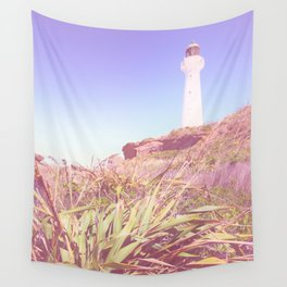 Lighthouse At Castlepoint Wall Tapestry