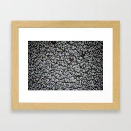 Frozen Condensation Framed Art Print