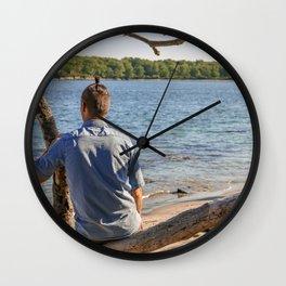 Island Relaxation Wall Clock