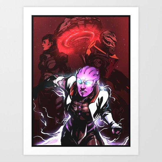 Take Back Omega Art Print