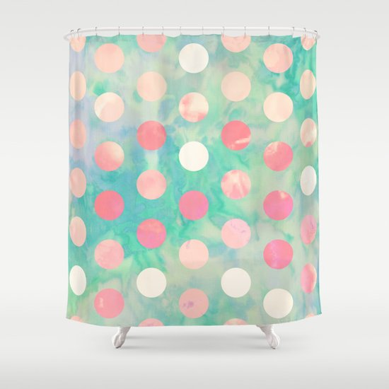 Girly Shower Curtains Girly Monsters Shower Curtain