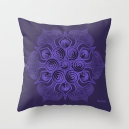 Serenity (Serenidad) Throw Pillow