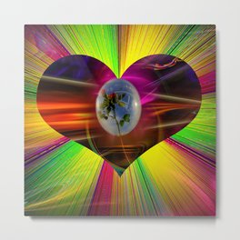 Flowermagic - Gift idea Metal Print