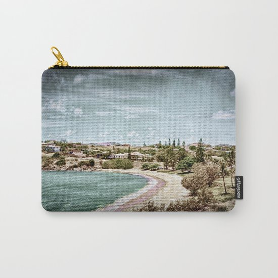 Living by the ocean Carry-All Pouch