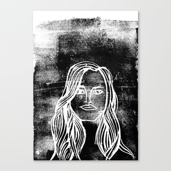 untitled girl Canvas Print