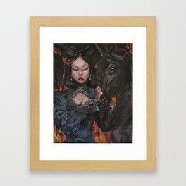 Dark Queen Framed Art Print