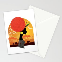 The Cradle of Civilization Stationery Cards