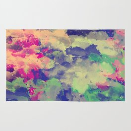 Abstract painting X 0.3 Rug