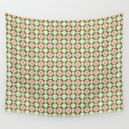 Seamless tile pattern Wall Tapestry