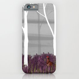Heather Lands iPhone Case
