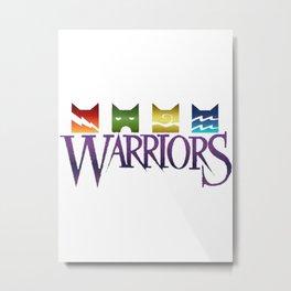Warrior Cats Logo Metal Print