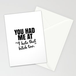You Had Me At Stationery Cards