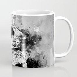 meerkat suricate mongoose wsbw Coffee Mug