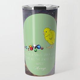 The Chick and the Jewel Travel Mug