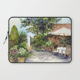 Terrace of The Manor House Laptop Sleeve