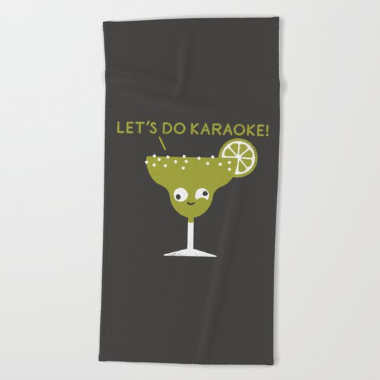 Marge in Charge Beach Towel