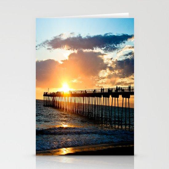 Hermosa Pier (2) Stationery Cards
