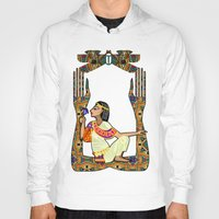 egyptian Hoodies featuring Egyptian Fusion by BohemianBound