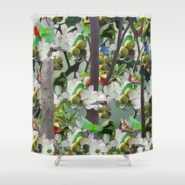 Morganton Mural Shower Curtain