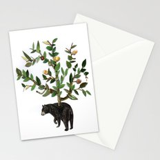 The wind is in the trees, the trees have its brances, the branches have its leaves Stationery Cards