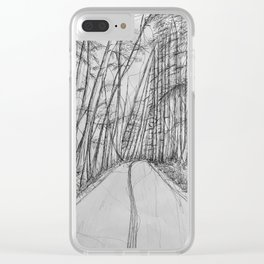 continuous Clear iPhone Case