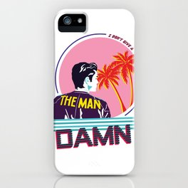 The Man iPhone Case