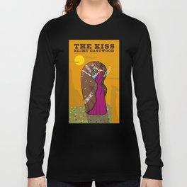 Klimt Eastwood - The Kiss Long Sleeve T-shirt