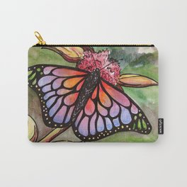 Sunrise Butterfly Carry-All Pouch