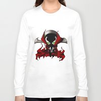 spawn Long Sleeve T-shirts featuring Chibi Spawn by artwaste