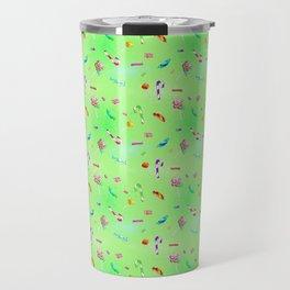 Candy (lime version) Travel Mug