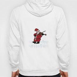 Swinging Santa - Violin Hoody