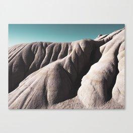 Flowing hills Canvas Print