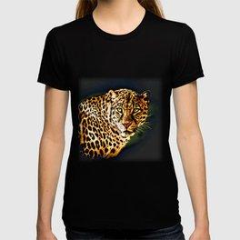 Leopard Digital Painting T-shirt