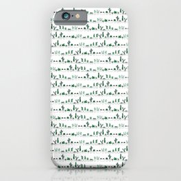 Spiky Stripes iPhone Case