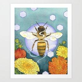 Spirit of the Bee Art Print
