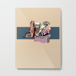 playgrounds of colour VI Metal Print
