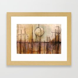 Sinking Spirit Framed Art Print