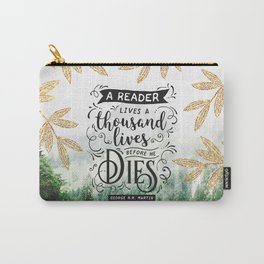 Thousand Lives Carry-All Pouch