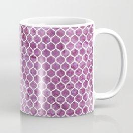 Rose Trellis Pattern Coffee Mug