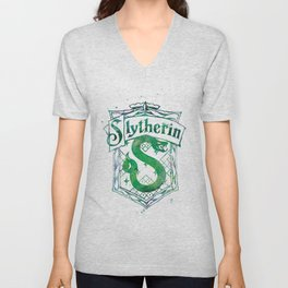 Slytherin Crest Unisex V-Neck