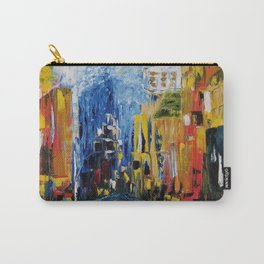 City of Colors, NYC Art, New York Art, NYC city scene, city scape Carry-All Pouch