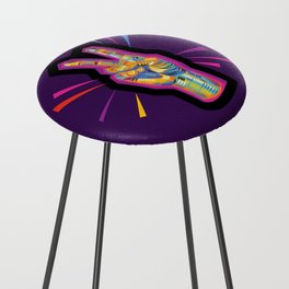 Peace in Dark Times Counter Stool