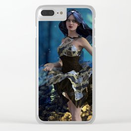 In love with a Fairytale Clear iPhone Case