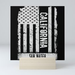 San Mateo California Mini Art Print