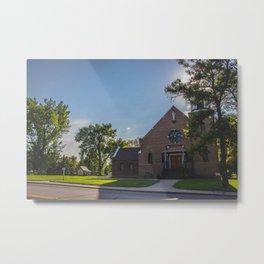 Holy Trinity Catholic Church, Fingal, North Dakota Metal Print