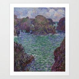 Port-Goulphar, Belle-Île Art Print
